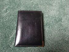 Real Leather Black Wallet With Credit Card Sized Caluclator