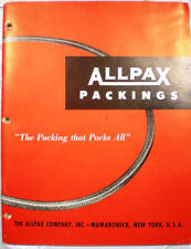 ALLPAX Packings Catalog Blue African ASBESTOS Packing Gaskets Tape Paxoid Sheet