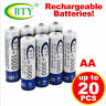 4-20pc AA 2A Rechargeable Battery Batteries 3000mAh 1.2V BTY Bulk NI-MH for Toys