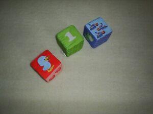 Toy fabric blocks (3)