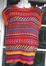 Vintage Liz Sport Women's Multi Color Pullover Sweater Vest Women's Sz M