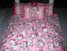 American Girl Inspired Disney Aristocats Marie  Doll Bedding Pillows Reversible