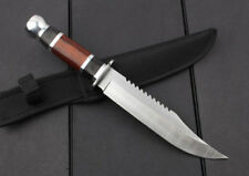 """""""warrio"""" sharp military Fighting camping survival hunting bowie rescue knife"""