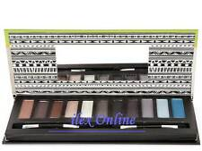 TECHNIC 11 SHADES EYESHADOW PALETTE / COMPACT *EARTH COLOURS BROWNS, BLUES......