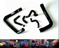 Black Silicone Radiator Coolant Hose For Ford Mustang GT Cobra V8 5.0 1986-93 92