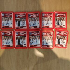 10x Merlin 2004 Stickers Packs Cristiano Ronaldo Rookie Chance PSA Investment