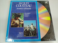 Jacques Cousteau SOS Un Mundo en Extincion Aventura Submarina - LASERDISC LD
