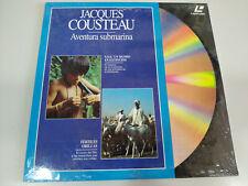 Jacques Cousteau Sos un Monde en Extinction Aventure Underwater - Laserdisc Ld