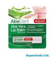 Optima AloeDent Aloe Vera Lip Balm With Tea Tree & Lysine 4g