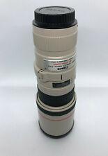 Canon EF 400mm f/5.6 L USM Lens - EF40056L, w/Tripod Mount Ring, case, UV filter