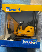 Bruder JCB Excavator 8010 CTS & Construction Toy