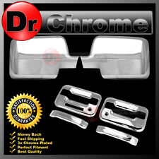04-08 Ford F150 Chrome Mirror+2 Door Handle+keypad+PSG keyhole Cover COMBO