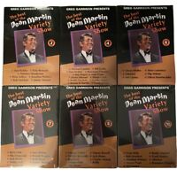Best of the Dean Martin Variety Show DVD Set Volume 2,4,6,7,8,10 Lot Of 6 Sealed
