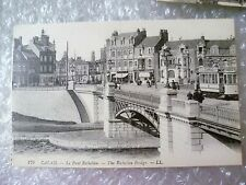 Postcard CALAIS- La Pont Richelieu / The Richelieu Bridge (LL.)