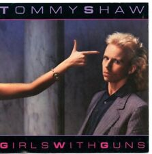 """TOMMY SHAW - """"GIRLS WITH GUNS""""  (RARE '84 A&M RECORDS PRESS) STYX , DAMN YANKEES"""