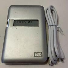 WD My Passport Essential 500GB External USB 2.0 Hard Drive (WDBAAE5000ASL-00)