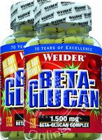 Weider Beta-Glucan 2x 120 Kapseln (22,44€/100g)  1.500 mg Beta-Glucan Komplex