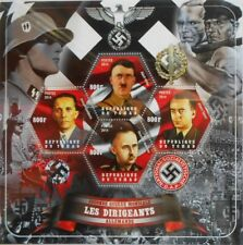 Leaders of Germany in World War II Tchad Chad Mini Sheet MNH #tchad2014-13