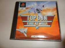 PlayStation 1 PSX ps1 Top Gun-Fire at will