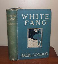 White Fang. Jack London. 1907. 1st UK ed. Methuen.