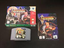 Castlevania Nintendo 64 N64 Complete CIB Very Good Authentic