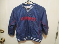 NEW YORK GIANTS OFFICIAL NFL YOUTH WINDBREAKER SIZE 6/7