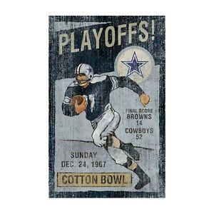 Dallas Cowboys - Vintage Wall Art - Imperial - Free Shipping