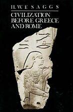 Civilization Before Greece & Rome Crete Syrian Anatolia Persia Indus Mesopotamia