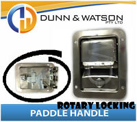 Large Rotary Paddle Handle (Lock, Latch) x1 Camper Trailer, Caravan Toolbox