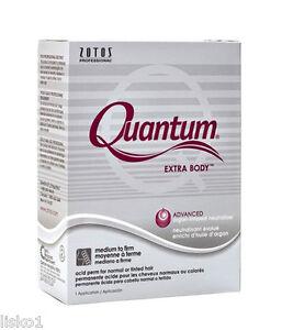 Zotos Quantum Extra Body  acid perm for normal or tinted Hair, 1-app