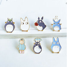 1Pcs Brooch Japanese Cartoon Totoro Childhood Memory Metal Brooch Pin Random