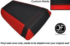 RED AND BLACK VINYL CUSTOM FITS HONDA CBR 600 F 01-03 REAR SEAT COVER ONLY