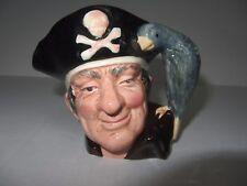 """Toby Jug """"Long John Silver"""" Royal Doulton #6386- 1951"""