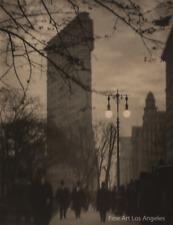"Alvin Langdon Coburn Photo, ""Flatiron Building, Evening"" New York, 1911"