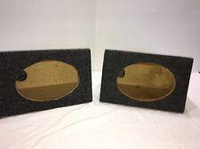 "Amazing Angled Style 6""x9""Car Audio Speaker Box Enclosures PAIR-BEIGE-W SPK CLIP"