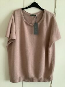 Mint velvet nude jumper size 16 new with tags, nude with metallic gold sparkle