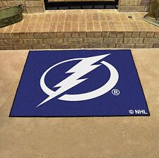 "Tampa Bay Lightning 34"" x 43"" All Star Area Rug Floor Mat"