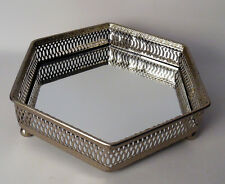 formano Tablett 6-eckig Metalltablett Dekotablett