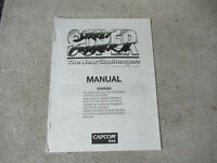 SUPER STREET FIGHTER 2 CAPCOM   arcade game cps 2   OWNERS manual