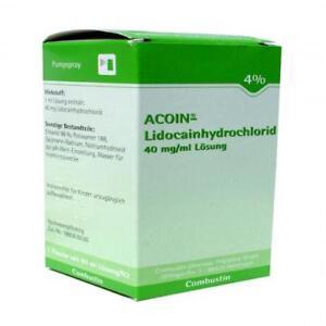 ACOIN Lidocainhydrochlorid 40 mg/ml Lösung 50 ml PZN 7788652
