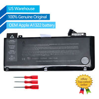 """Genuine OEM A1322 Battery for Apple MacBook Pro 13""""A1278 Mid 2009/2010/2011/2012"""