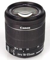 Brand New Genuine  Canon EF-S 18-55mm F4-5.6 IS STM Bulk Box Black IT*3