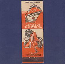 VINTAGE MARVELS CIGARETTES MATCHBOOK COVER