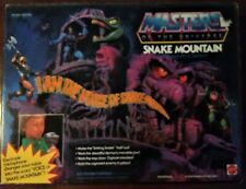 Snake Mountain He-man Masters of The Universe MOTU Castle 1983