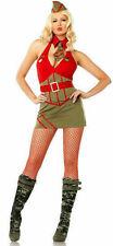 83527 Leg Avenue 4 Piece Major Diva Costume SZ S/M