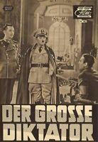 DNF   DER GROSSE DIKTATOR   Charlie Chaplin, Paulette Goddard   Top