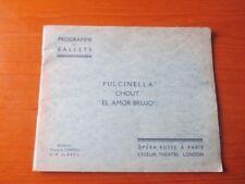 Original Pre 1940 Ballets Collectables