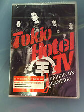 DVD TOKIO HOTEL TV CAUGHT ON CAMERA NUOVO E SIGILLATO