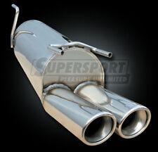 VW BORA 1j anno 10/98 - 2.3 v5 125kw Supersport Acciaio Inox Sport Silenziatore Scarico