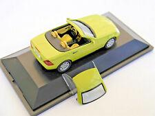 Mercedes W R 170 SLK 230 Kompressor designo hell grün metallic Herpa 1:43 DEALER